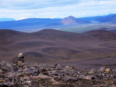 The Möðrudalsöræfi highland mountains.