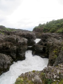 """Barnafoss - the """"Children's Waterfall"""" - with a rather dark story to accompany the nickname."""
