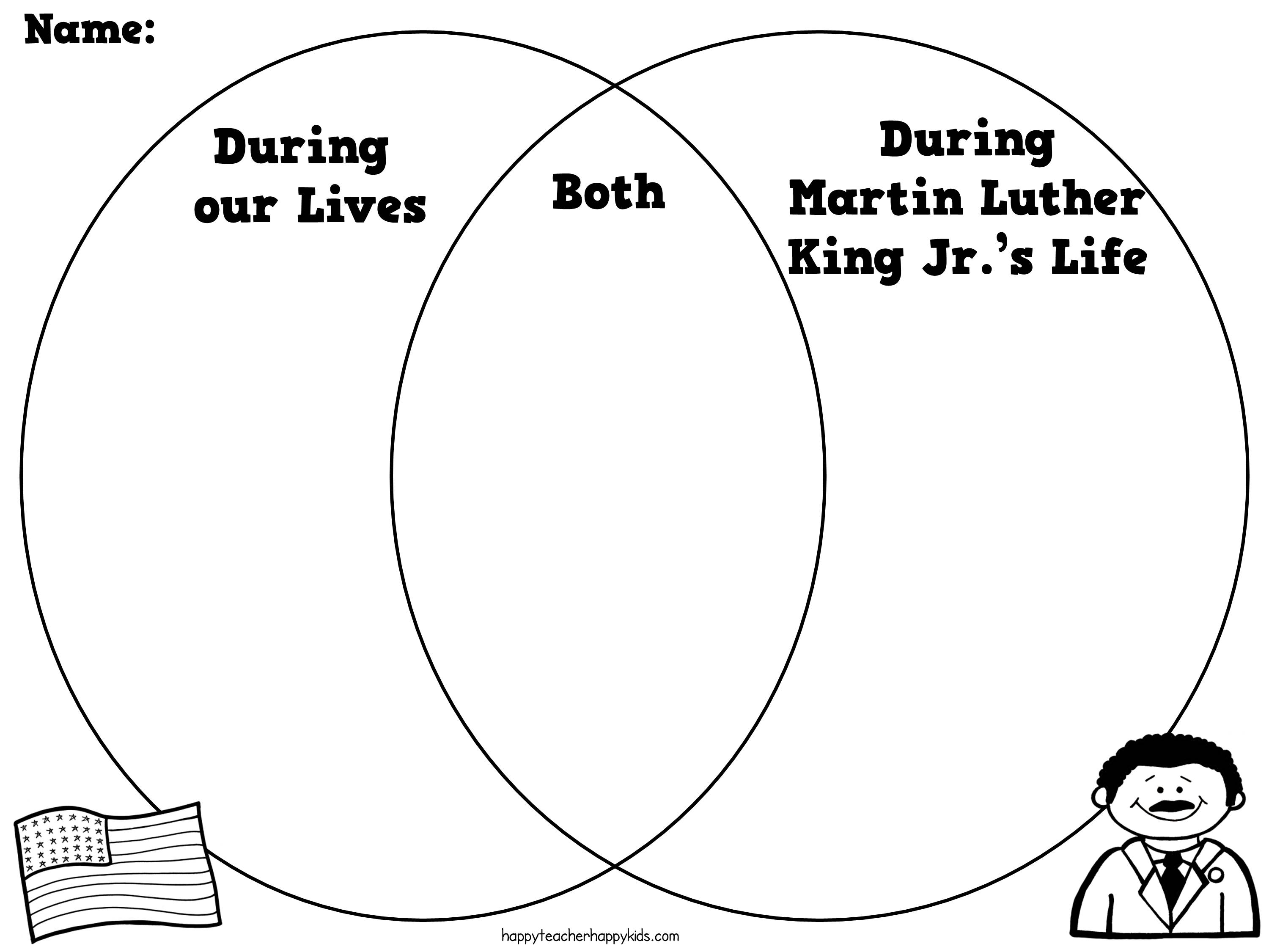 Martin Luther King Ideas For First Grade