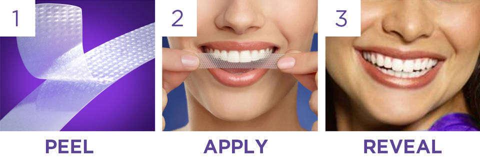 crest牙齒美白貼片使用方法