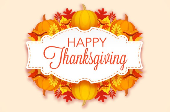 Happy Thanksgiving 2017 Cards