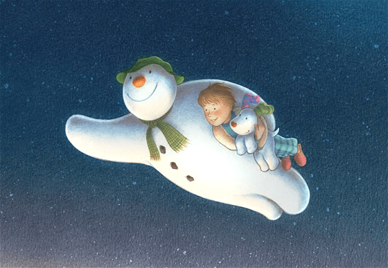 Snowman and the snowdog craft tutorials channel 4 animated film