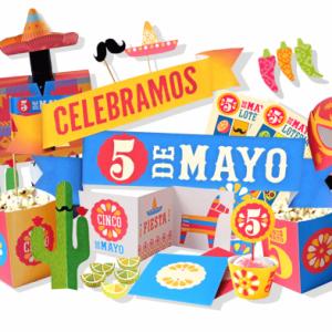 Cinco de Mayo printable PDF DIY kit