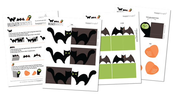 templates patterns diy print at home halloween