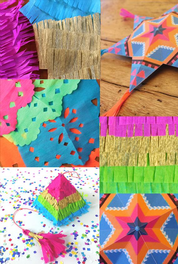 4 Manualidades Decorativas Mexicanas En Papel Instrucciones Y