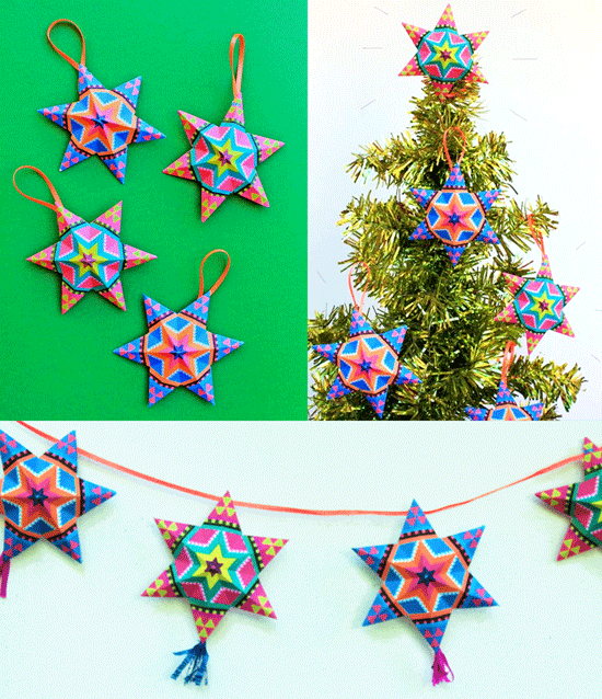 4 Fun And Easy To Make Mexican Paper Craft Decorations Video