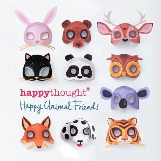 3d-10 máscaras imprimibles de animales