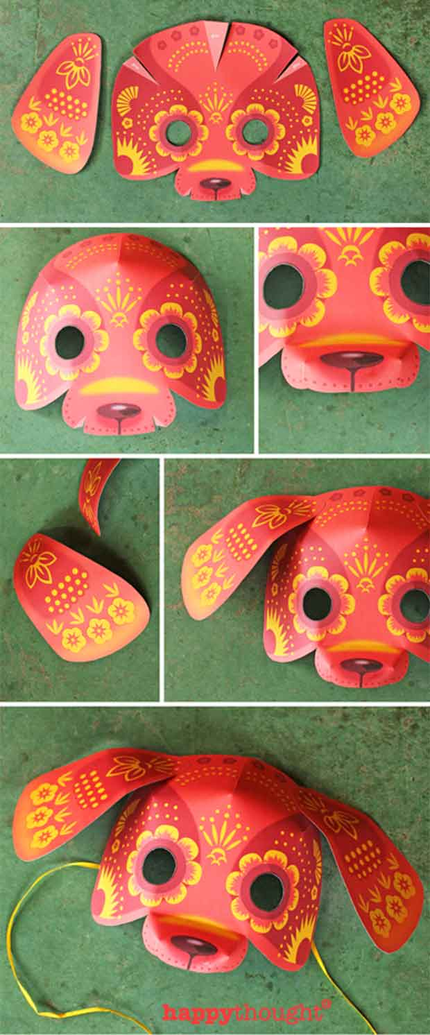 Chinese Dog Mask