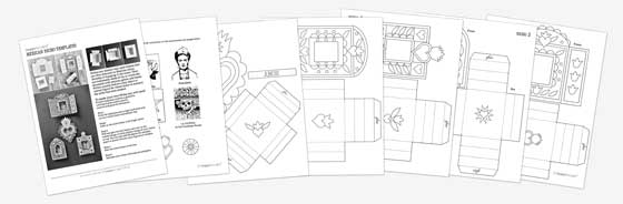 free to happythought members printable pdf templates paper craft
