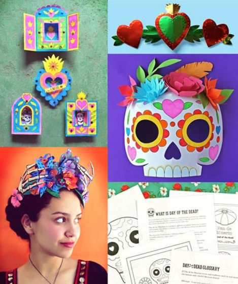 Day of the Dead activity worksheets: Download crafts and worksheets to learn more about El Dia de los Muertos.