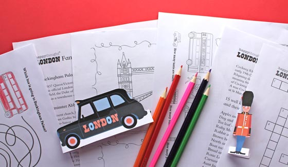 Learn about London with these fun worksheets and printables of famous London Landmarks and figures!