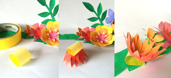 Cinco de Mayo paper flowers for decorations and outfits!