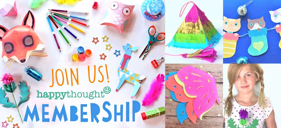 CraftClub membership for crafters and teachers looking for the best craft worksheets