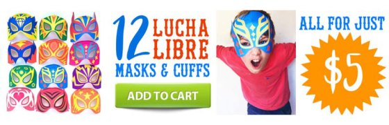 12 Lucha libre mask pattern: Download templates!