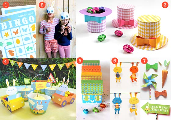 Easter Holiday ideas, papercrafts and printables!