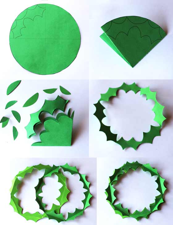 Jolly Holly robin in a Holiday Wreath instructions: Happythought Holiday craft activity pack!