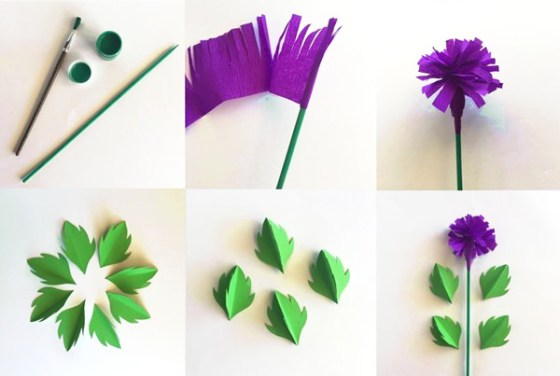 How to make a paper craft thistle for Burns Night Supper celebrations!