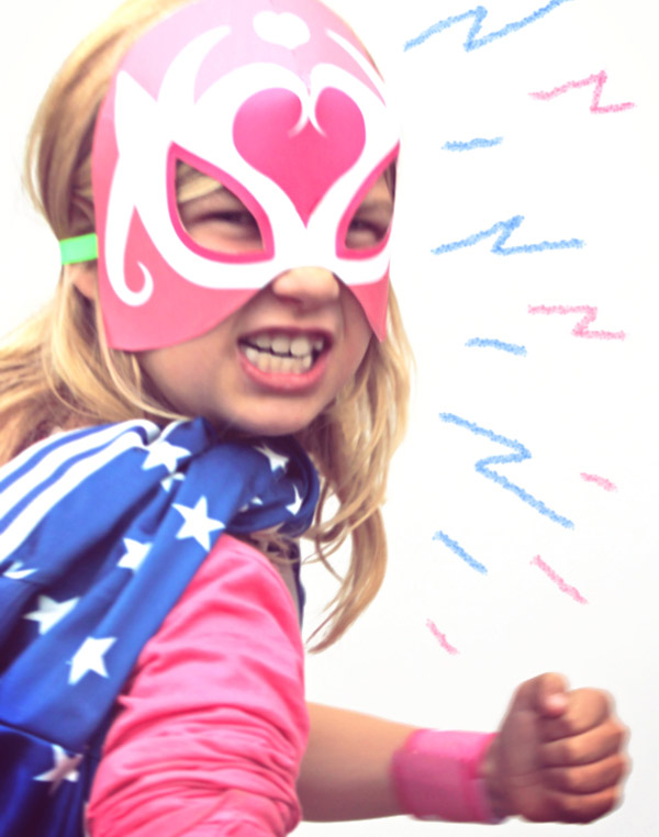 Homemade lucha libre mask and dress up ideas for boys and girls. Mask templates and costume ideas!