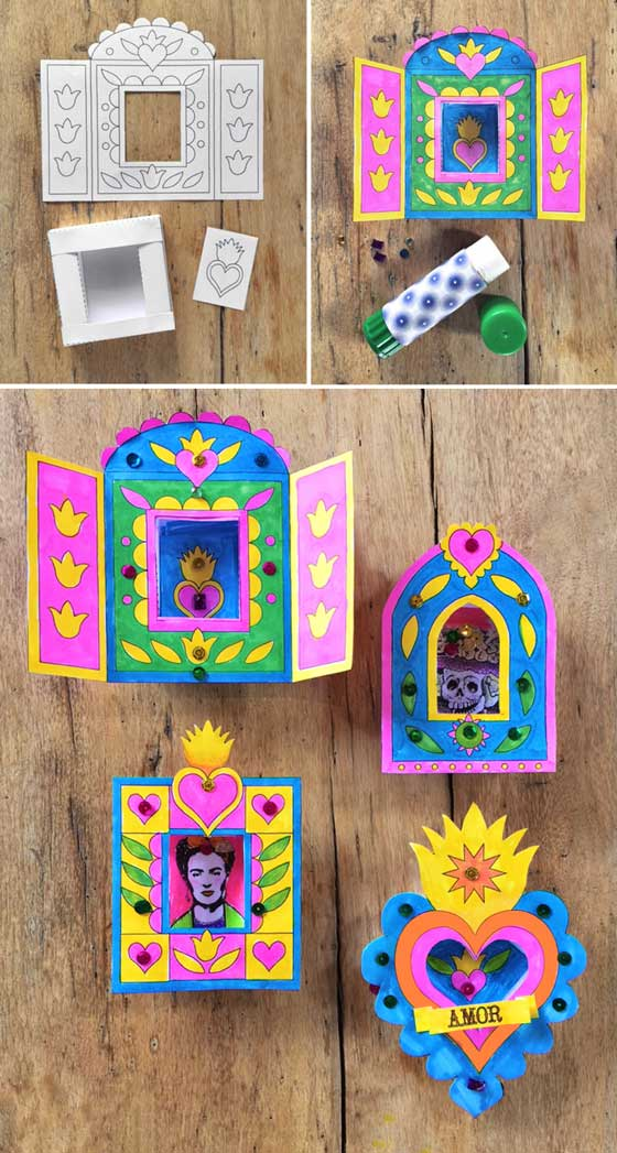 Nicho Craft Activity For Day Of The Dead Easy Diy