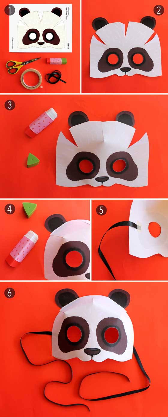 Cat In Hat Mask Template