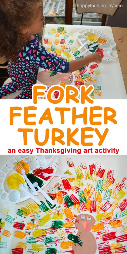 ARE YOU GOING TO TRY FORK FEATHER TURKEY WITH YOUR TODDLER OR PRESCHOOLER