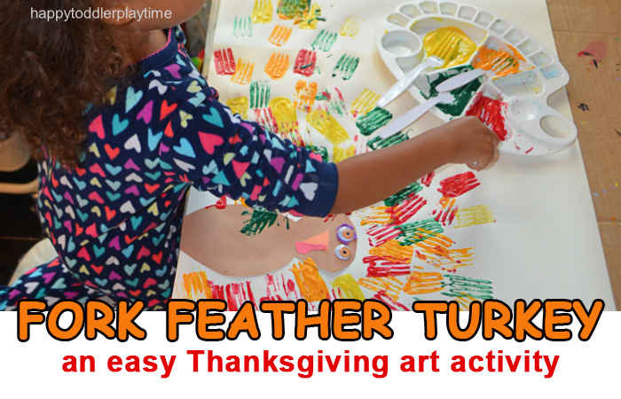 FORK FEATHER TURKEY HAPPY TODDLER PLAYTIME