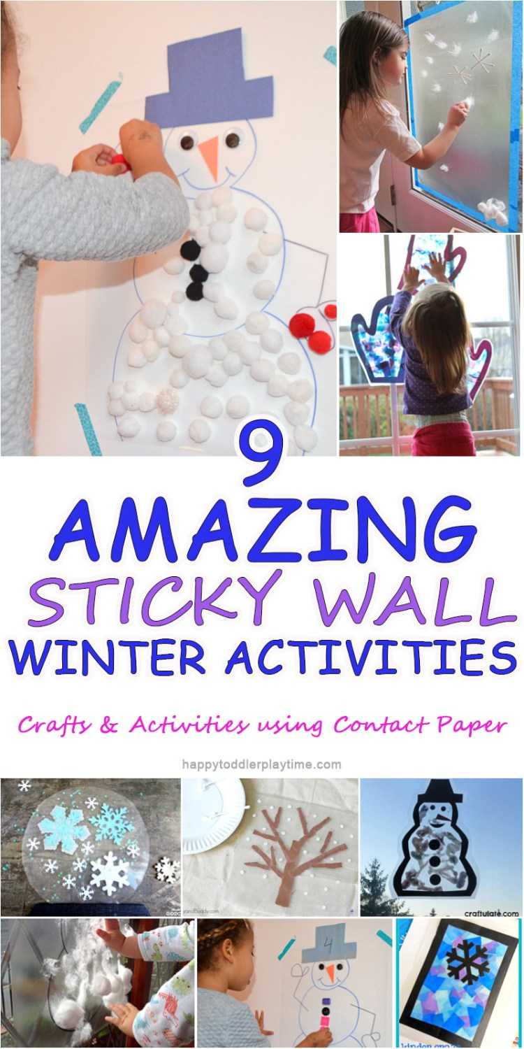 winter sticky wall