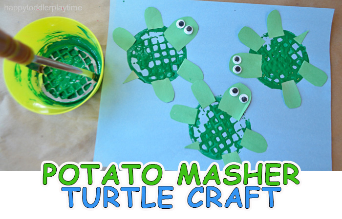 Tissue Paper and Paper Plate Turtle Craft | 450x700