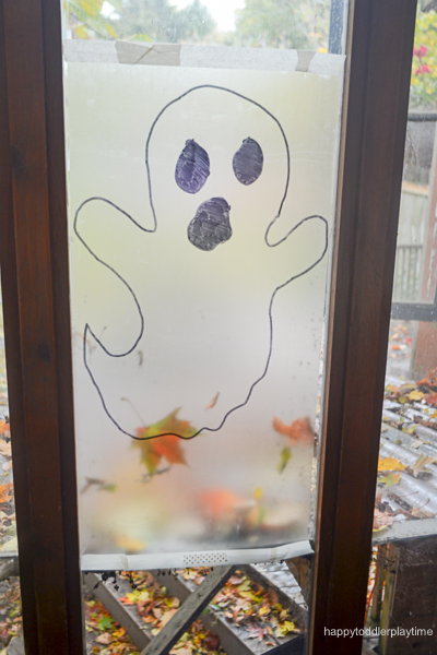 GHOST STICKY WALL