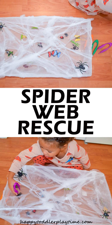 SPIDER WEB RESCUE pin