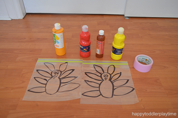 MESS FREE TURKEY PAINTING 0