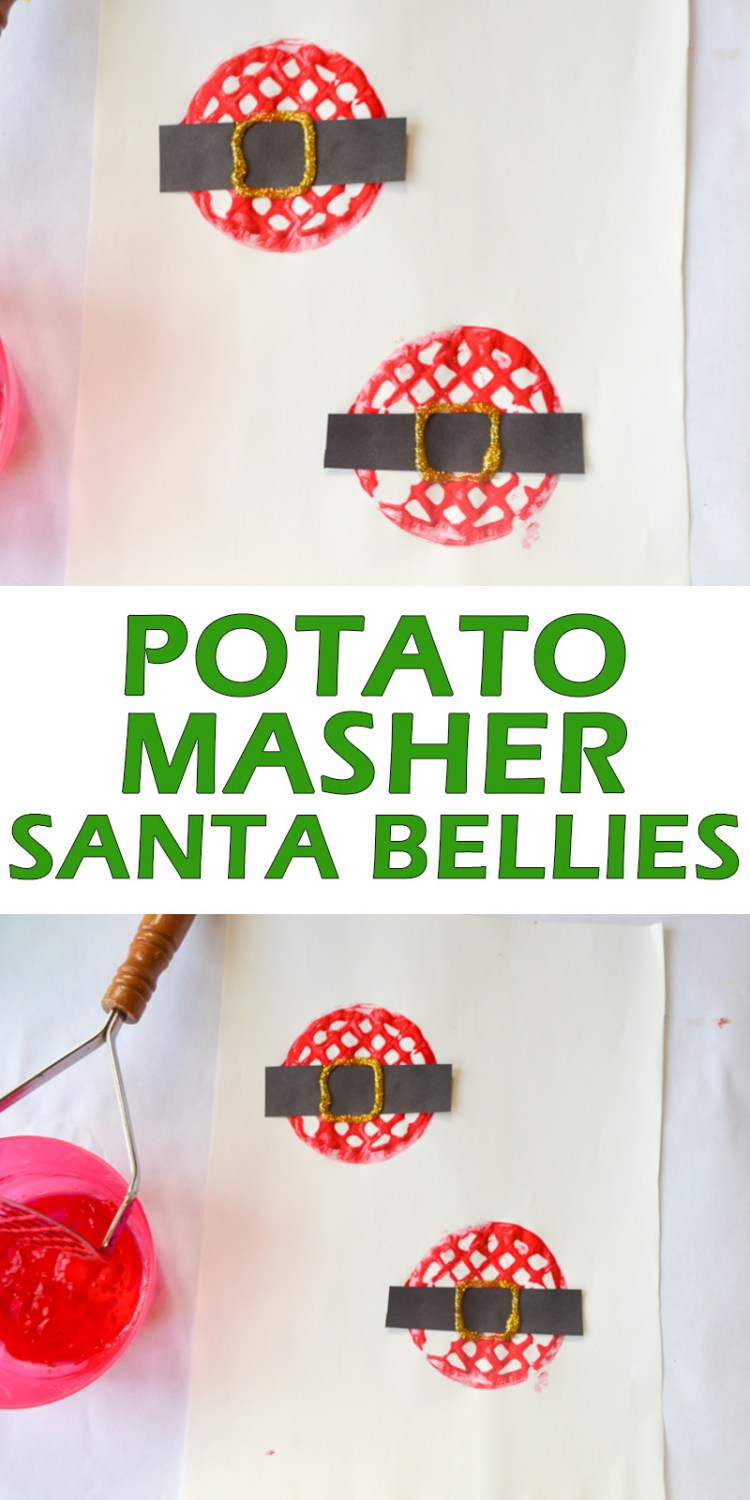 SANTA BELLIES pin