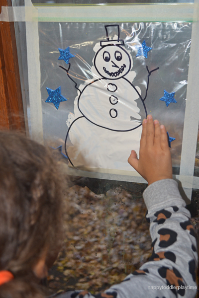 SNOWMAN MESS FREE PAINTING6