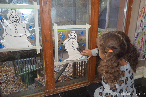 SNOWMAN MESS FREE PAINTING9