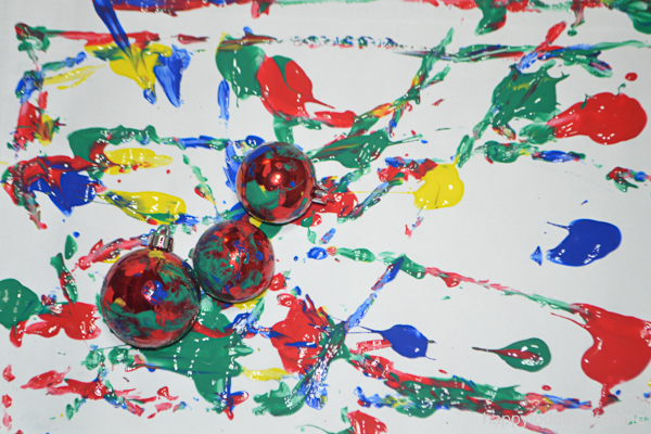 CHRISTMAS BAUBLE PAINTING 6