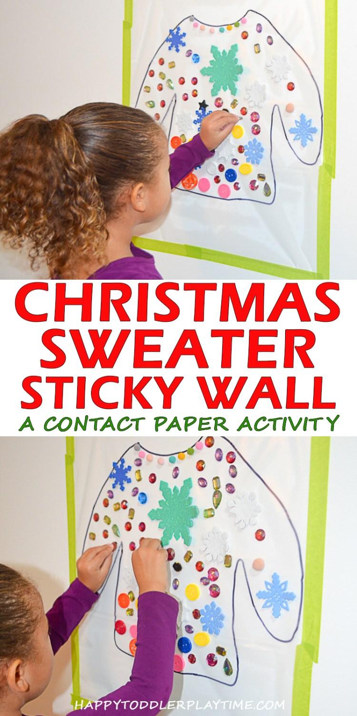 CHRISTMAS SWEATER pin