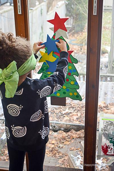 PIN THE STAR ON THE XMAS TREE 16