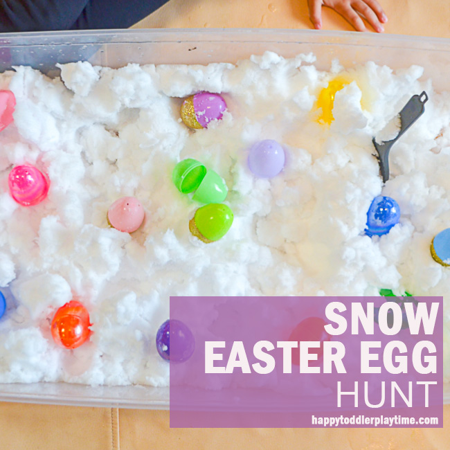 SNOW EASTER EGG HUNT fb