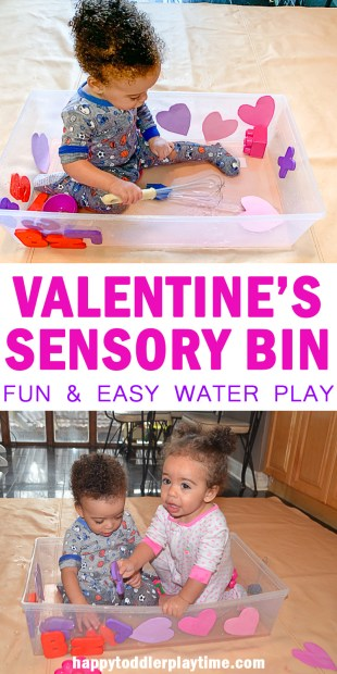 Easy Sensory Bins for 12 Month Olds