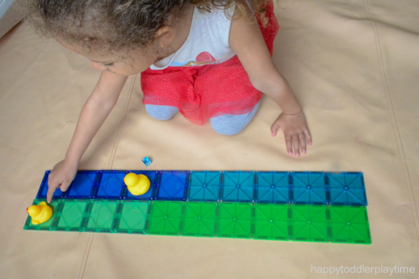 Rubber Duck Math Race for Preschoolers & Kindergartners
