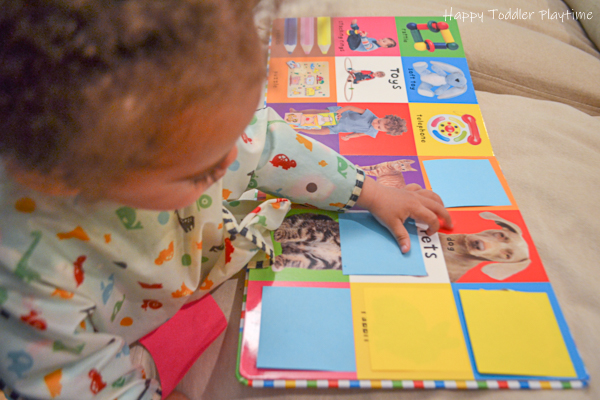 DIY Flip Book for Toddlers
