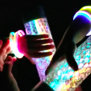 #2 Glow in the Dark Water Bead Sensory Bottle
