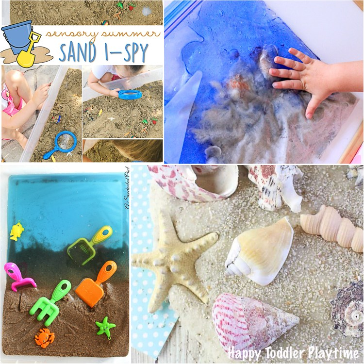12+ ways for preschoolers and toddlers to play with the beach indoors