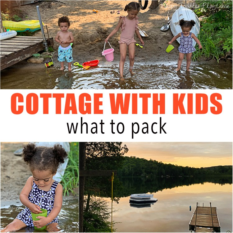 Cottage with Kids: What to Pack