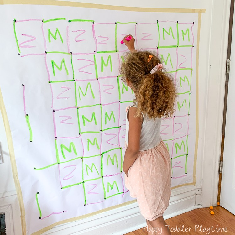 Fun indoor game for kids