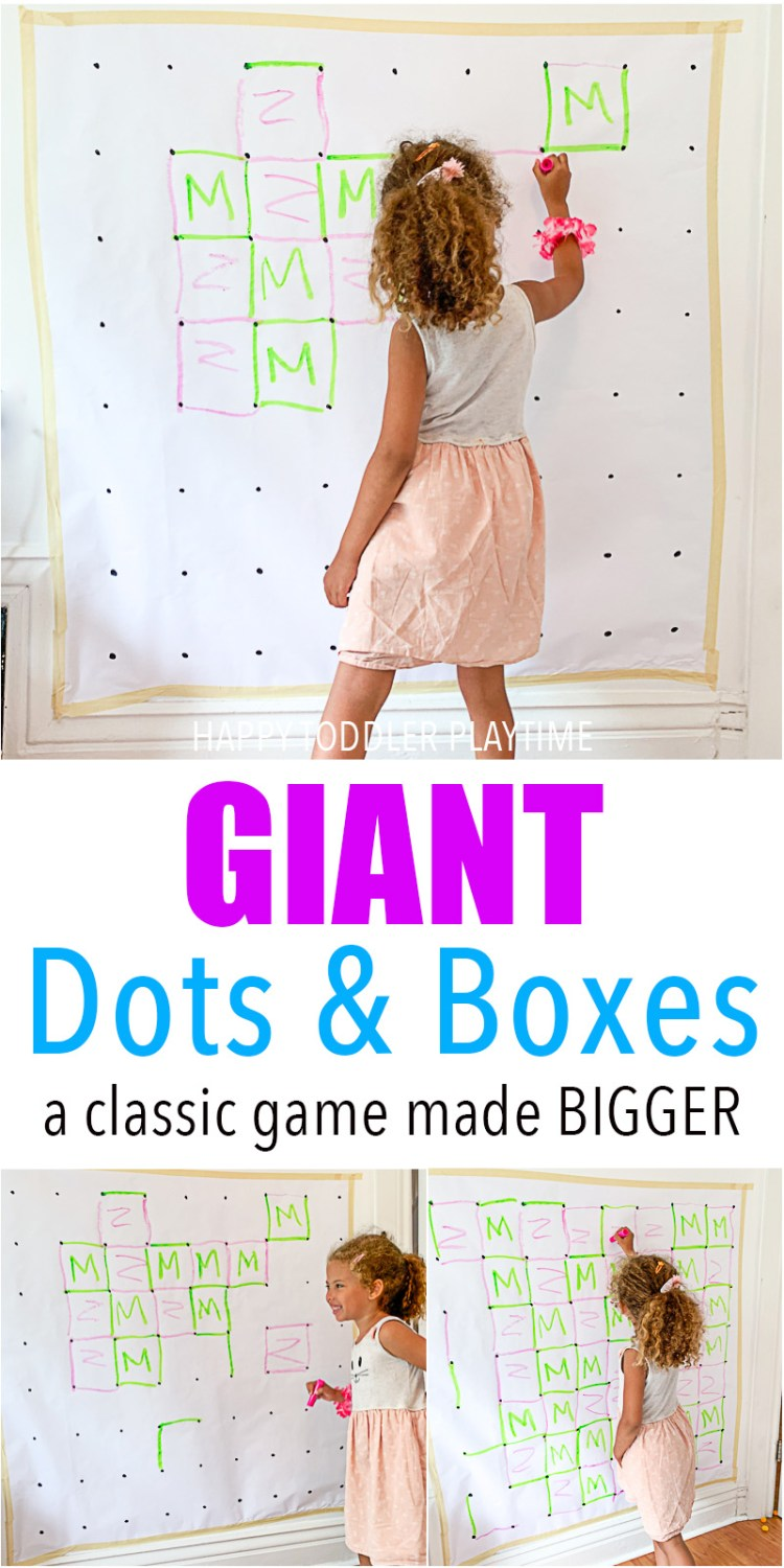 GIANT Dots & Boxes