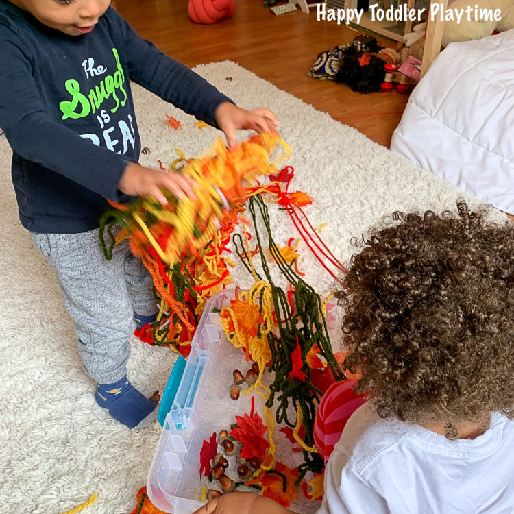 a fall activities for babies and toddlers