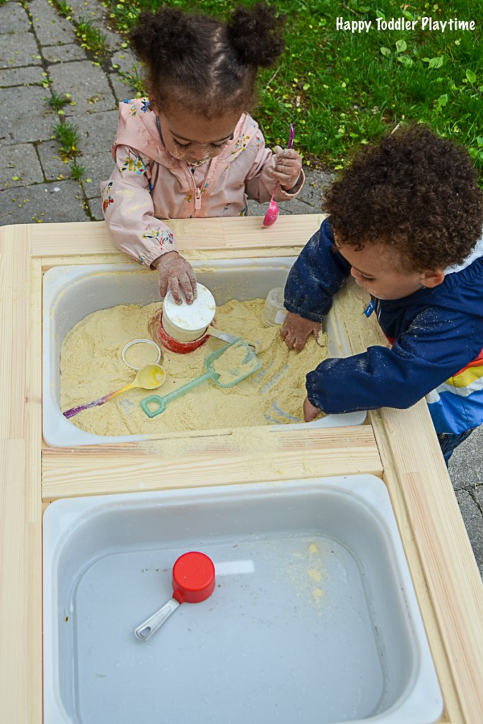 Taste Safe Sensory Bin Happy Toddler Playtime