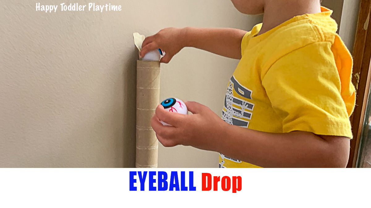 Eyeball Drop: Fine Motor Activity