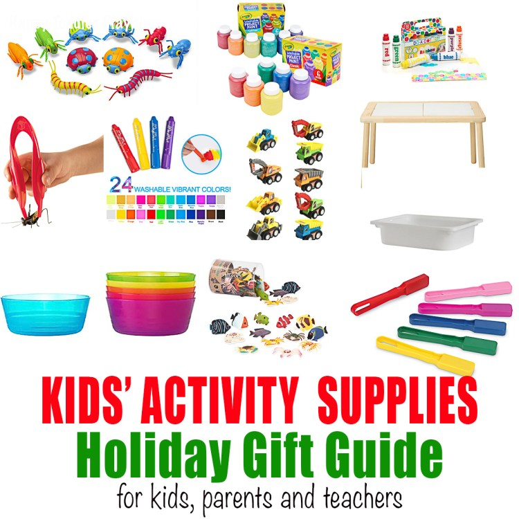 kids activity supplies holiday gift guide